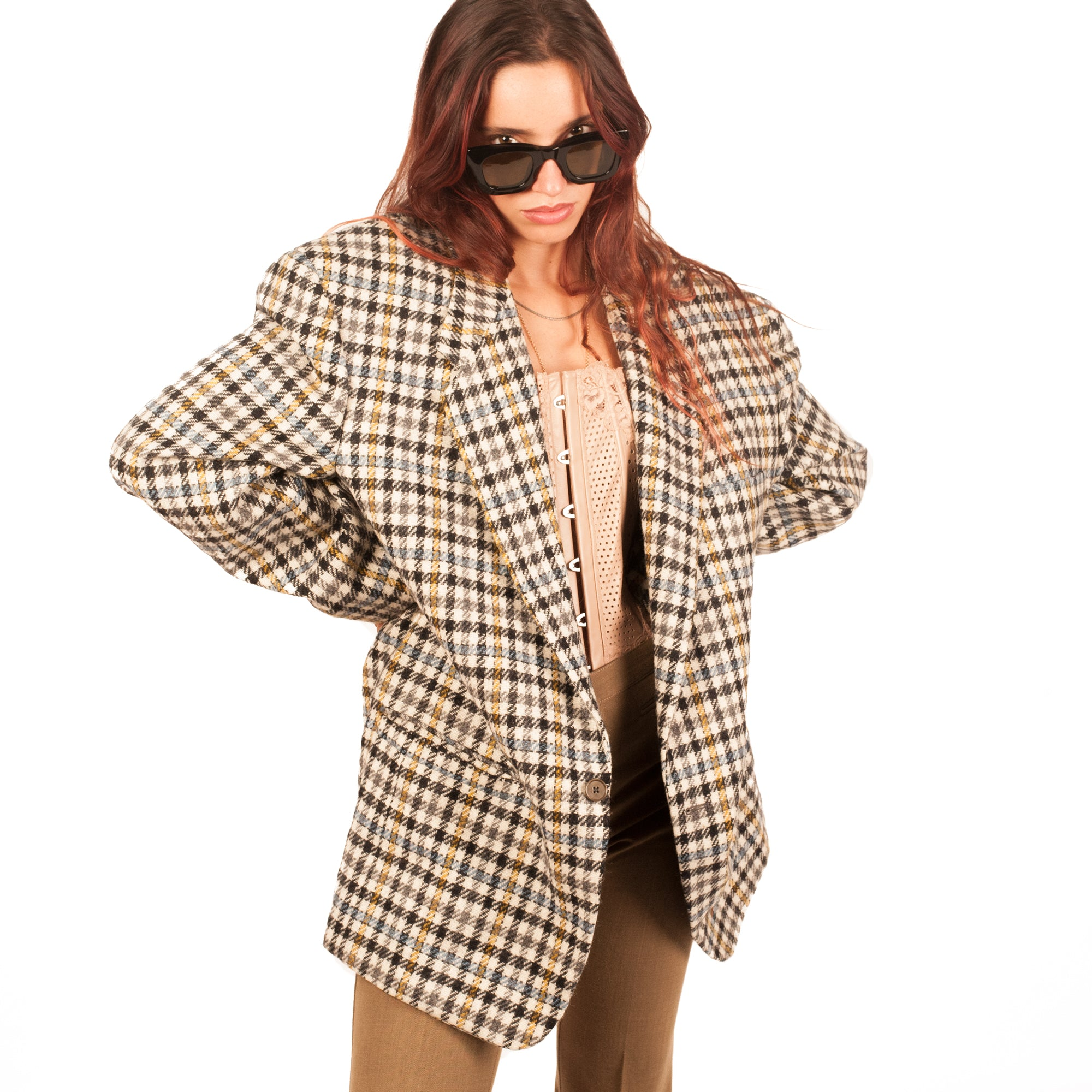 Gianni Versace Blazer (Multi Check) UK 8-14