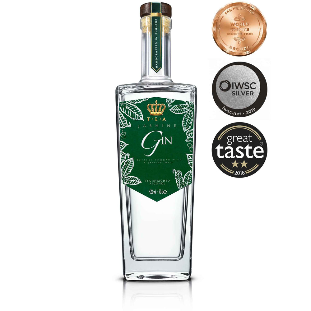 T.E.A Mixed Case Gin Earl Grey & Jasmine 70cl x 6
