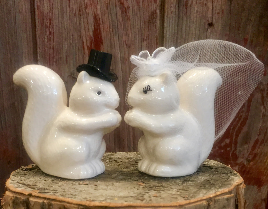 Wedding Season! It's a great day for a White Squirrel Wedding!