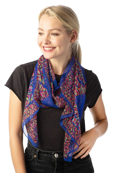 Clothing Accessory - Silk Oblong Scarf