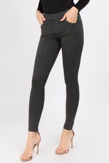 Clothing - Perfect Black Ponte Pants in Plus Sizes