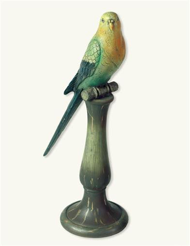 Home Accessory - BOCA CHICA PERCHED BIRD (PARAKEET) DECORATION #