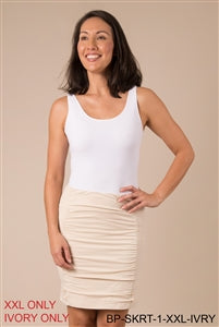Clothing - Skirt - can be worn as a scrunch skirt, a mini skirt or a pencil skirt