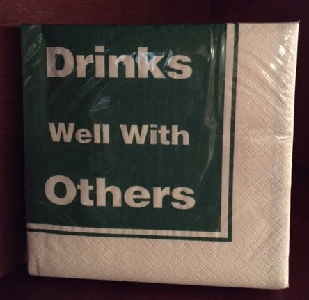 Cocktail Napkins for Happy Hour - Funny for Everyone
