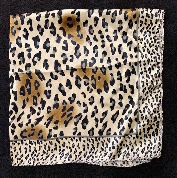 Clothing Accessory - Small Square Neck Scarves