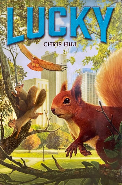 "Book - For Children - ""Lucky"" by Chris Hill"