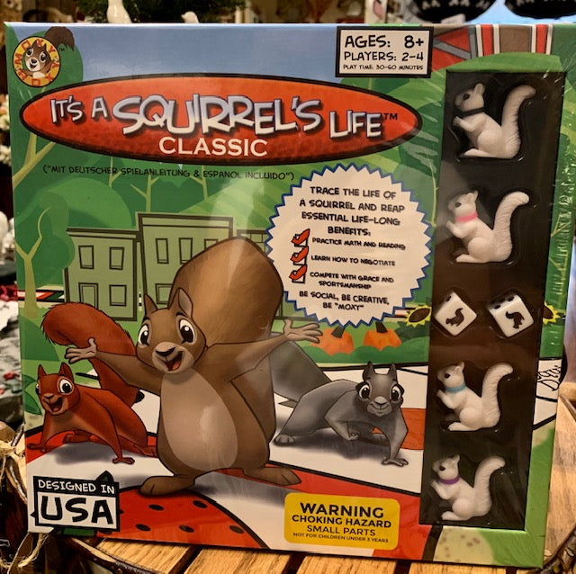 "Board Game - ""It's a Squirrel's Life"" Board Game for Ages 8 and Up - 2-4 Players"