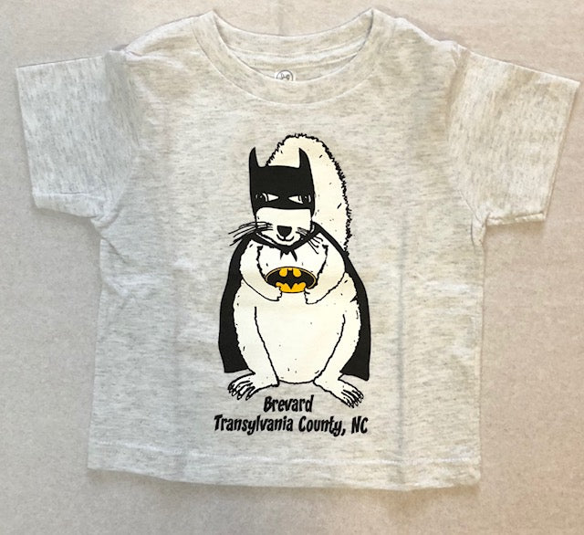 T-Shirt - For Men, Youth and Toddlers - Bat Squirrel