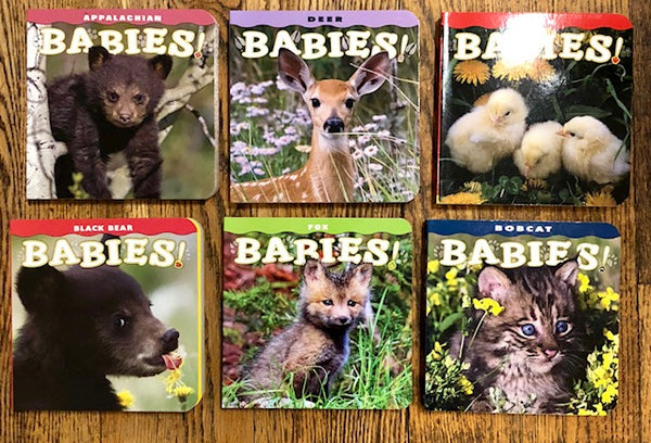 Book - Appalachian Baby Animal Series