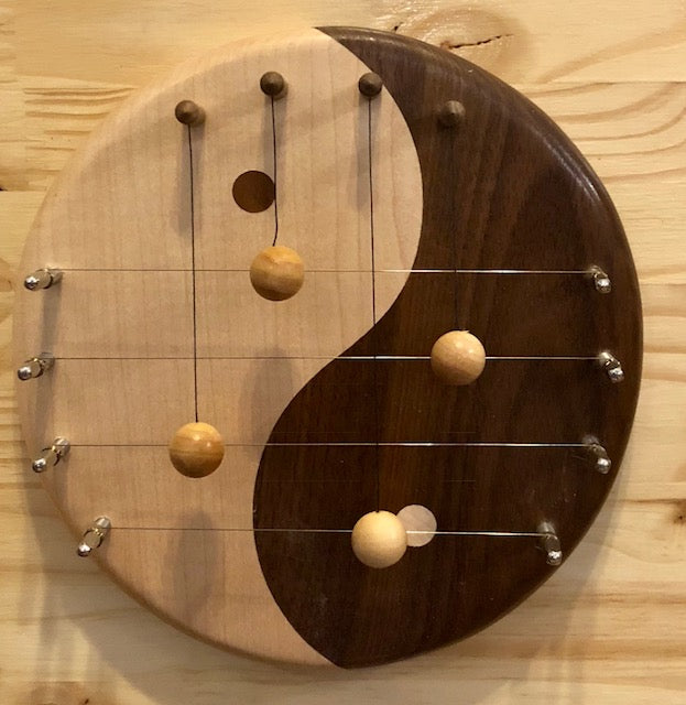 Door Harp - Handcrafted - Yin Yang 4-String
