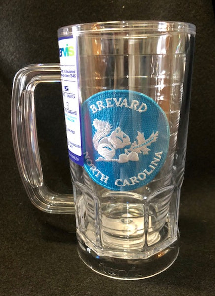 Kitchen Beverage-Tervis beer mug with custom squirrel patch #