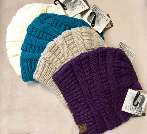 Clothing Accessories - Slouchie Beanie Hat by