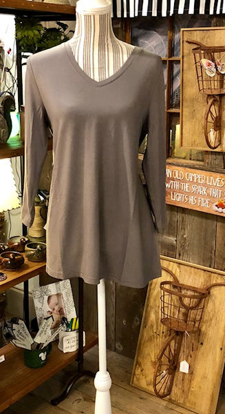 Clothing - Essential V-Neck Tunic