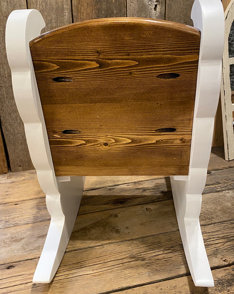 Child's Rocker - One-of-a-Kind Made by a Local Woodworker