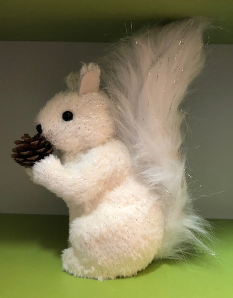 Home Accessories - Mama and Baby White Squirrels