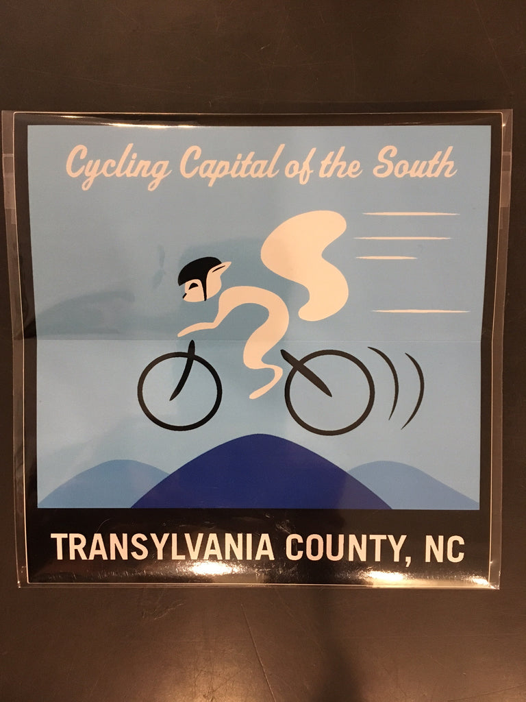 Sticker-Cycling Capital of the South #