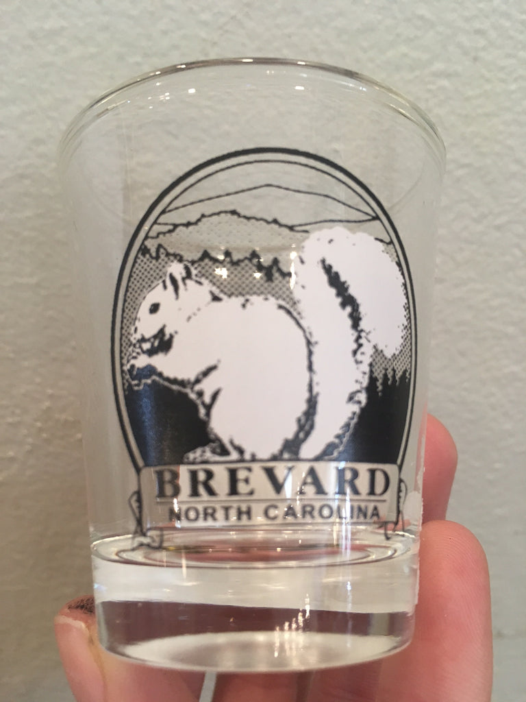 Kitchen Beverage- Brevard NC Shot Glass #