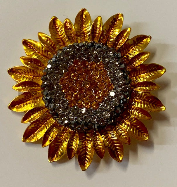Jewelry - Sunflower Brooch