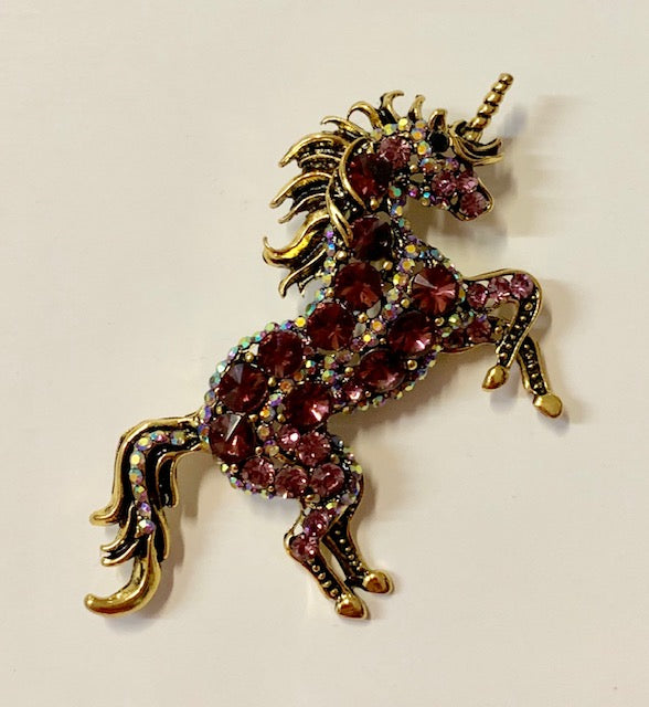 Jewelry - Unicorn Brooch