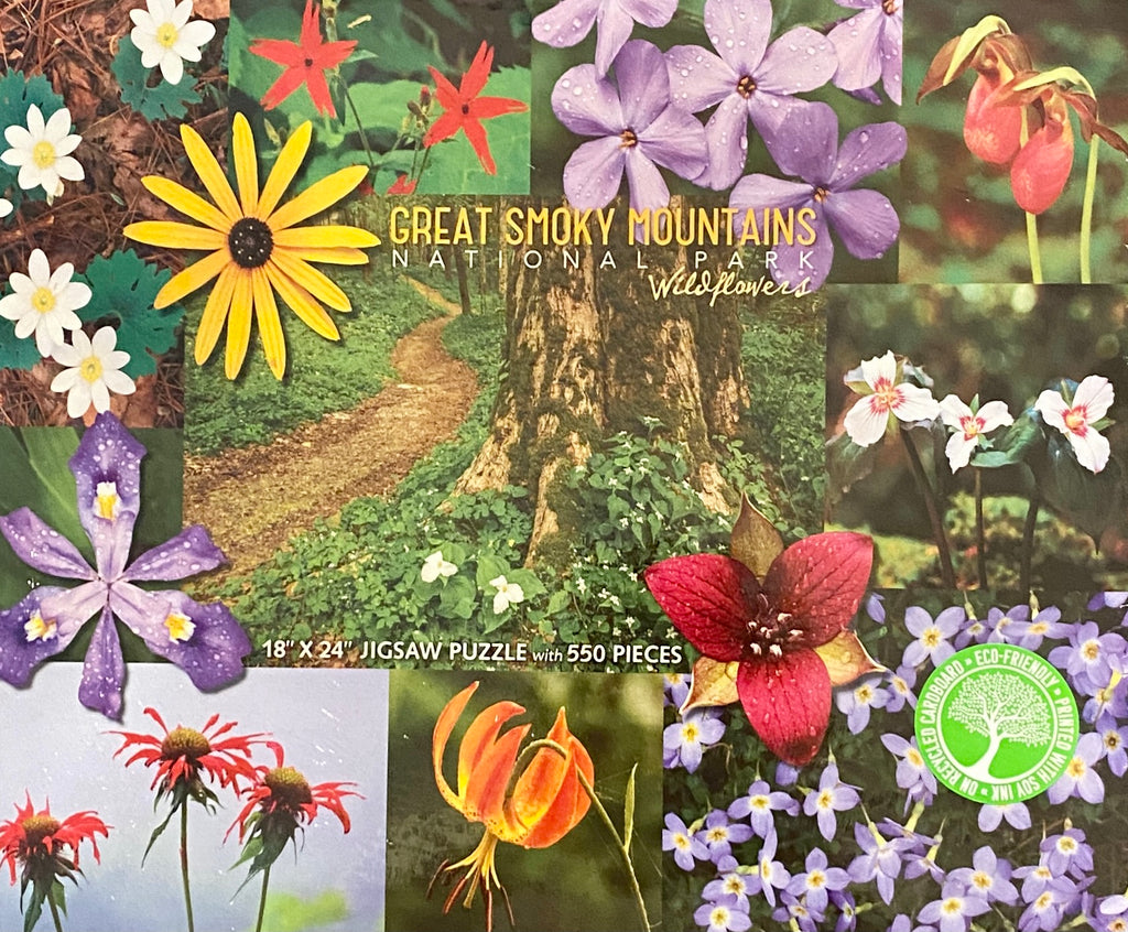 J Scott Graham- Puzzle - Great Smoky Mountains Wildflowers