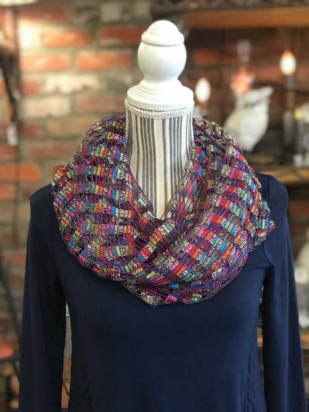 Clothing Accessory - Metallic Infinity Scarf