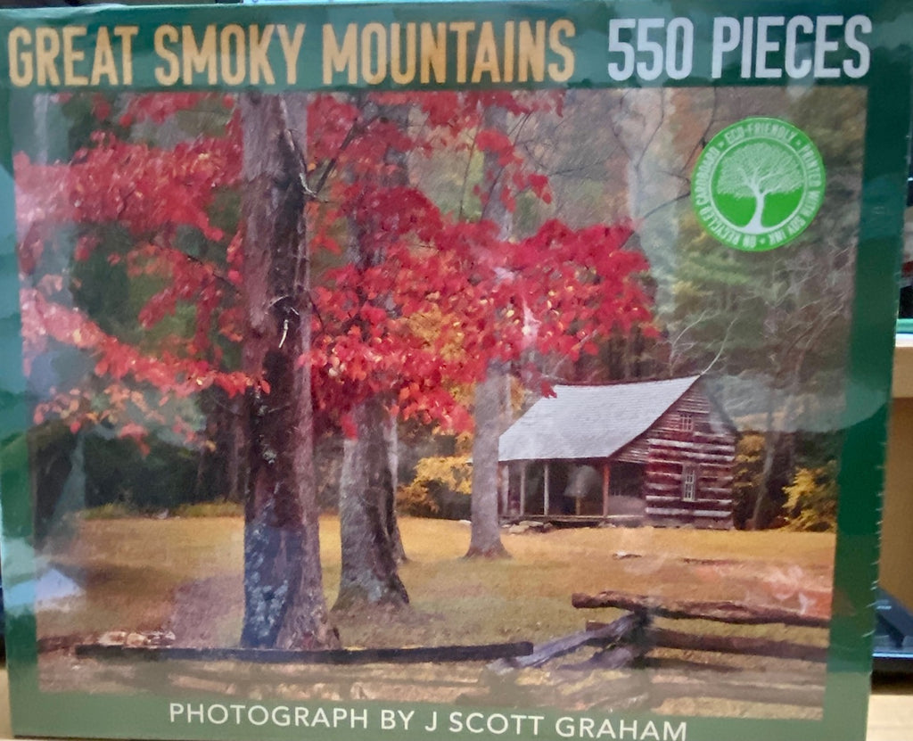 J Scott Graham- Puzzle - Great Smoky Mountain Cabin