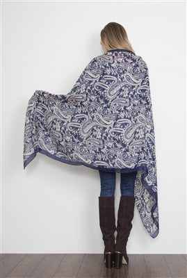 Clothing Accessory - Beautiful Hobo Paisley Scarves #