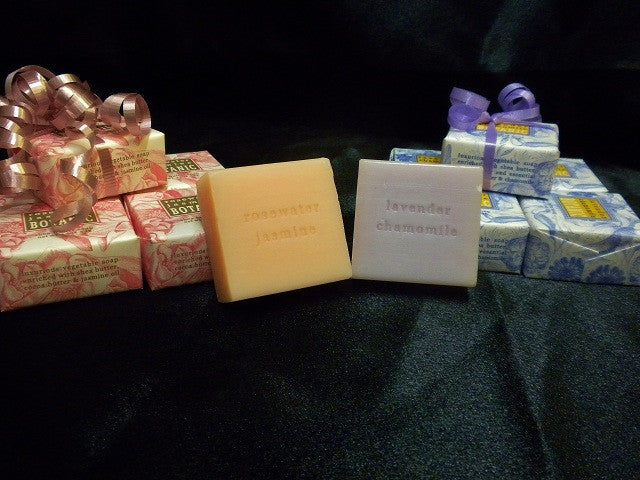 Soap- Shea Butter Soap Made in Raleigh, NC - Lavender Chamomile, Rosemary Jasmine, Lemon Verbena and Almond Cocoa Butter