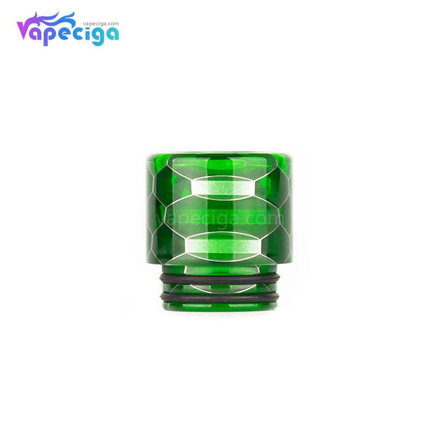 Green REEVAPE AS116S Transparent 810 Replacement Drip Tip