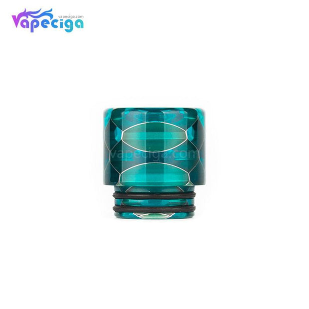 Light Blue REEVAPE AS116S Transparent 810 Replacement Drip Tip