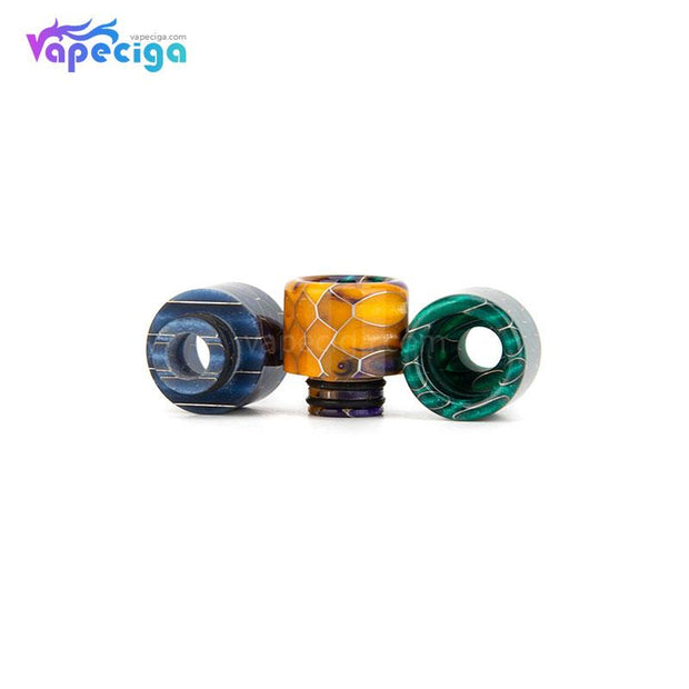 REEVAPE AS131S 510 Resin Replacement Drip Tip 3 Colors Display