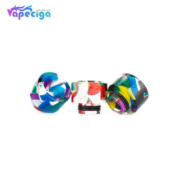REEVAPE AS138D 510 Resin Replacement Drip Tip 3 Colors Available