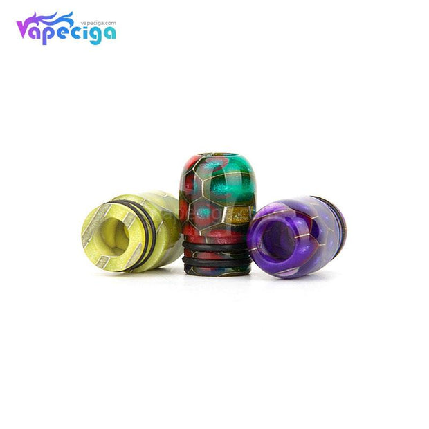 REEVAPE AS109SS Resin 510 Drip Tip 3 Colors Available