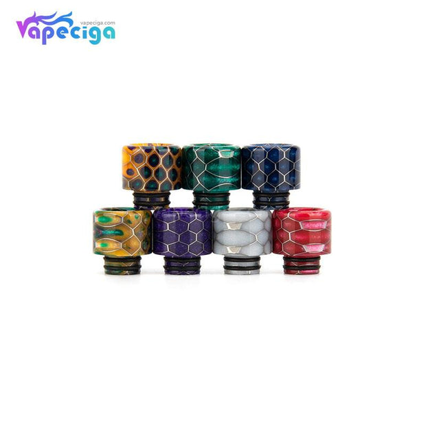 REEVAPE AS131S 510 Resin Replacement Drip Tip 7 Colors Display