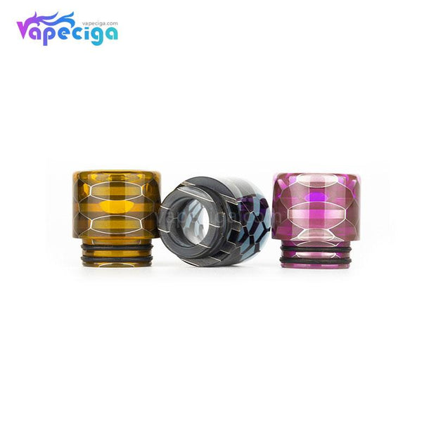 REEVAPE AS116S Transparent 810 Replacement Drip Tip Real Shots