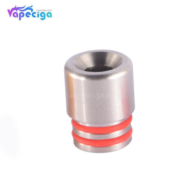 SS 510 T7 Drip Tip Stainless Steel + POM + PEI