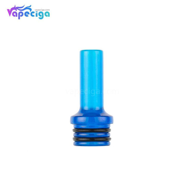 Blue REEVAPE AS248 Universal 510 Resin Replacement Drip Tip