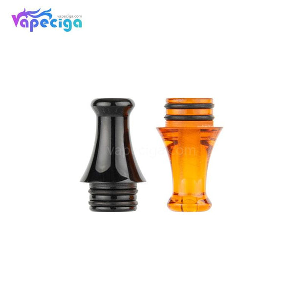REEVAPE AS242 510 Resin Replacement Drip Tip Black & Yellow