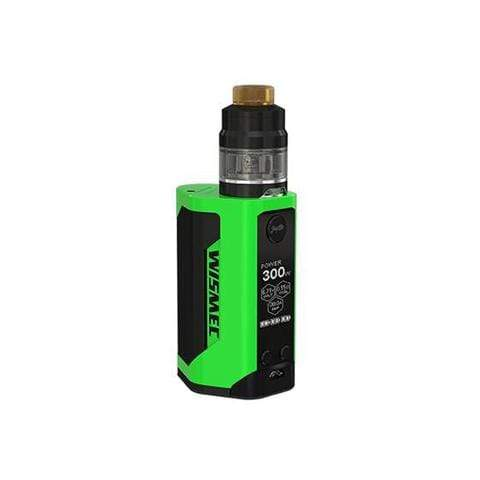 Green Black Wismec Reuleaux RX GEN3 GNOME Kit