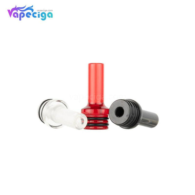 REEVAPE AS248 Universal 510 Resin Replacement Drip Tip 3 Colors Display