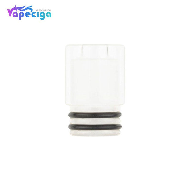 White REEVAPE AS247 Universal 510 Resin Replacement Drip Tip