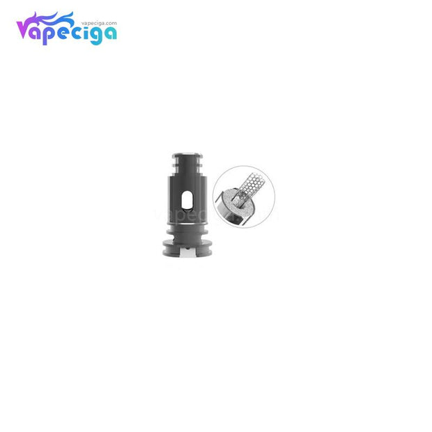 BOHR Flask Replacement Mesh 0.4ohm Coil Head 5PCs