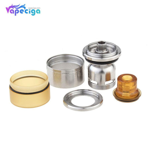 Coppervape Replacement Drip Tip + Tank Tube Components
