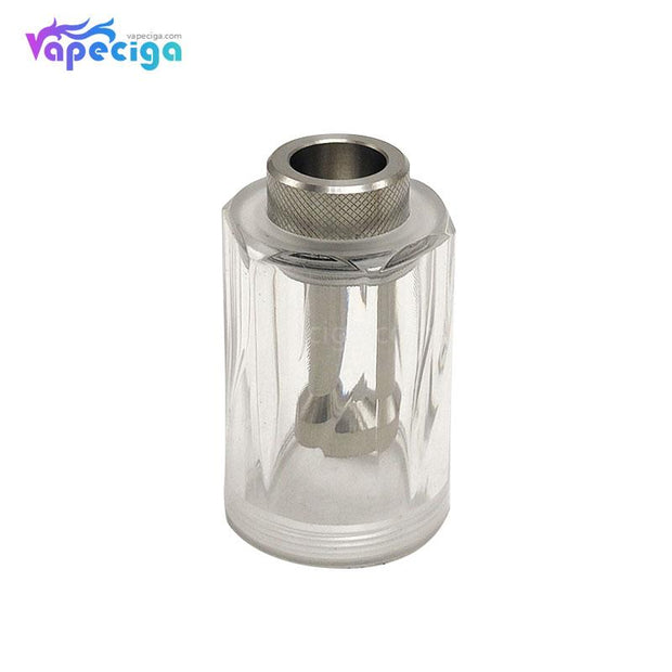 Coppervape Replacement PC Transparent Top Cap for Dvarw Style MTL RTA 22mm