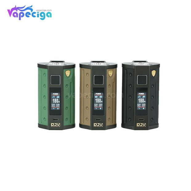 DEJAVU DJV D7 TC Box Mod with Touch Screen 180W 3 Colors Choose