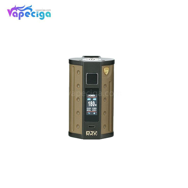DEJAVU DJV D7 TC Box Mod with Touch Screen 180W Sand Yellow