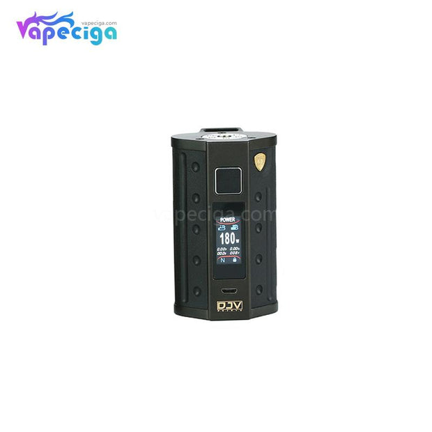 DEJAVU DJV D7 TC Box Mod with Touch Screen 180W Black