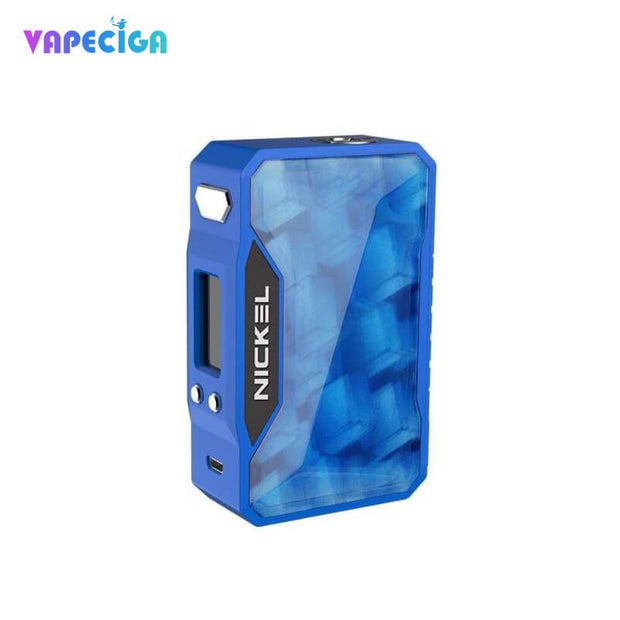 Dovpo Nickel 230W TC Box Mod Blue & Ice Cubic