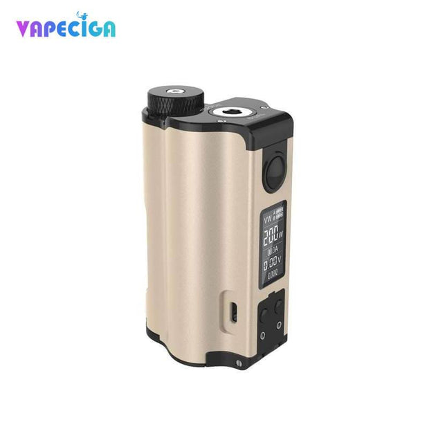 Dovpo Topside Dual Top Fill 200W Squonk Mod Gold