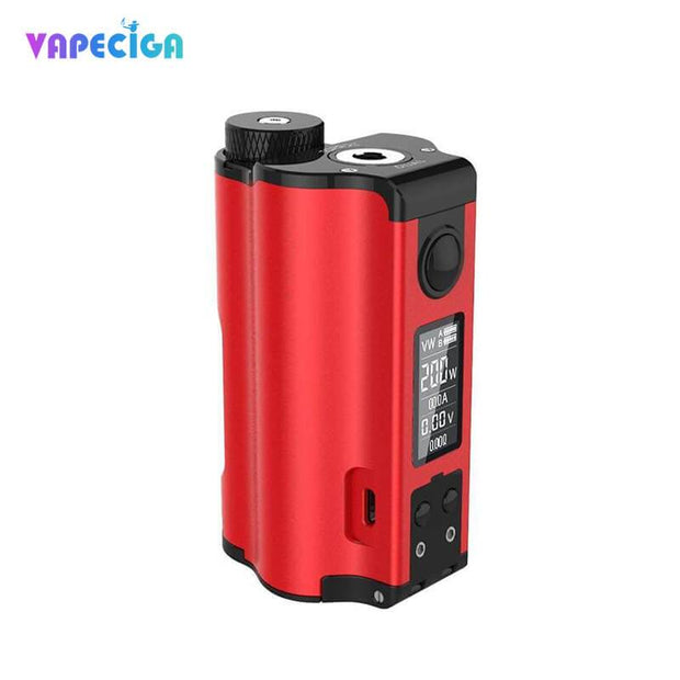 Dovpo Topside Dual Top Fill 200W Squonk Mod Red